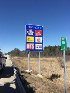 Highway Logo Signs