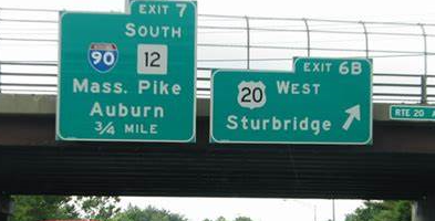 Bridge Mounted Sign Structures